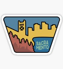 Pegatina Visitar Sacramento California