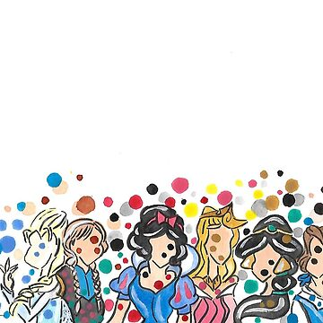 Princesses Around the World by HollyFlora