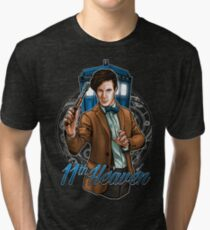 11th Doctor - Eleventh Heaven Tri-blend T-Shirt