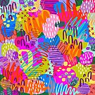 Pink Pattern Crazy by AR-GlitterFairy