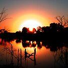 Circular Sunset by marinar
