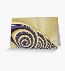 Revolution in a Boudoir Greeting Card