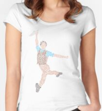 Newsies- Seize the Day Women's Fitted Scoop T-Shirt