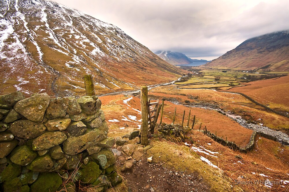 Wasdale valley on a cold winters morning by Shaun Whiteman