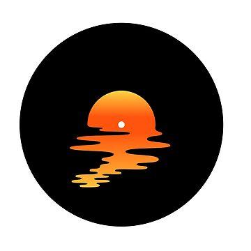 Vinyl Sonnenuntergang Soundscape von 38Sunsets