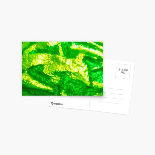 you call THAT green? Postcard