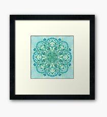 - Azure garden - Framed Print