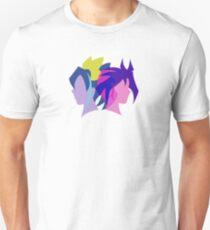 Arc V Ship Silhouette- Yuri/Serena T-Shirt