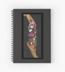 Wildblumen Spiralblock