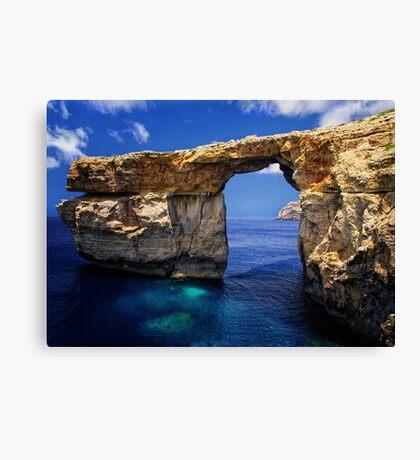 Azure Window Canvas Print