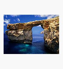 Azure Window Photographic Print