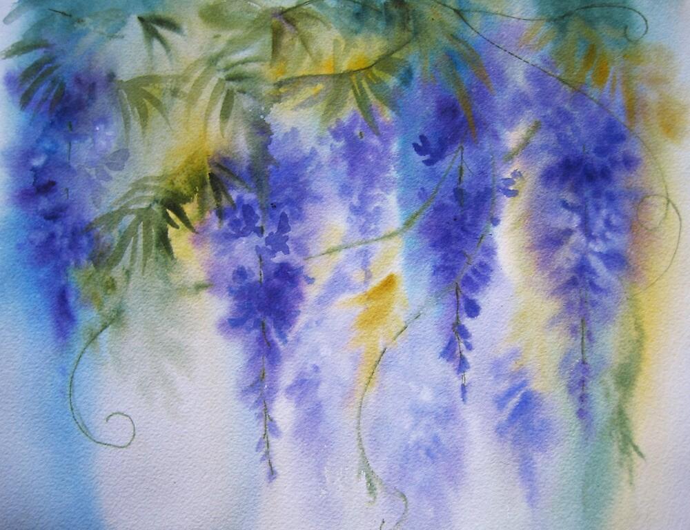 Misty Wisteria by artbyrachel