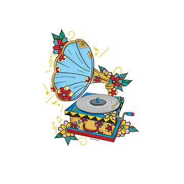 Gramophone by mitalim