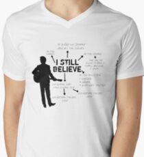 Frank Turner- I still believe Men's V-Neck T-Shirt