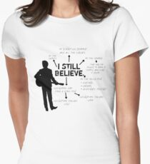 Frank Turner- I still believe Women's Fitted T-Shirt