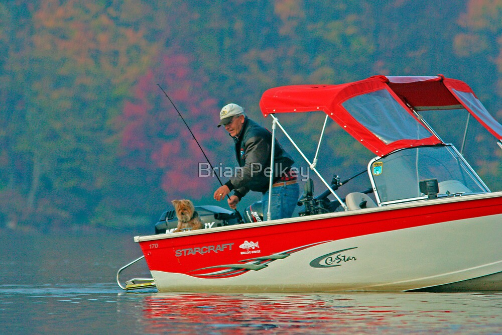 Two Friends Fishing by Brian Pelkey