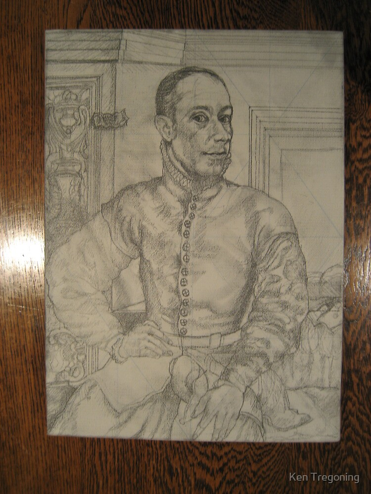 Portrait in the Medici Style by Ken Tregoning