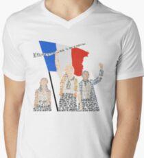 Camiseta de cuello en V los Miserables