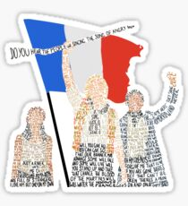 Les Miserables Sticker