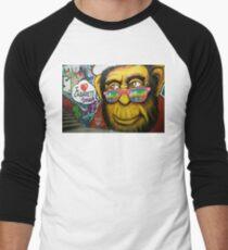 Camiseta ¾ bicolor para hombre Me encanta el cabaret