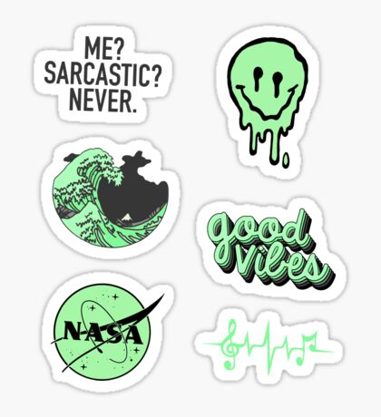 Green Pack Sticker