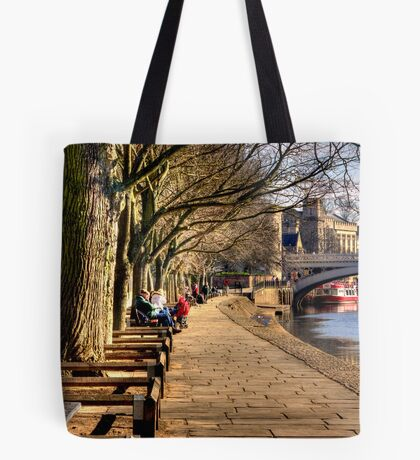 By The Riverside - York Tote Bag