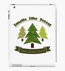 Smells Like Forest - Team Robin Hood iPad Case/Skin