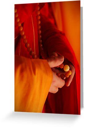 Buddhist Prayer Beads by RONI PHOTOGRAPHY