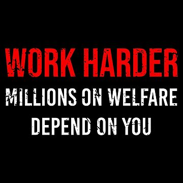 Work Harder Distressed by MillSociety