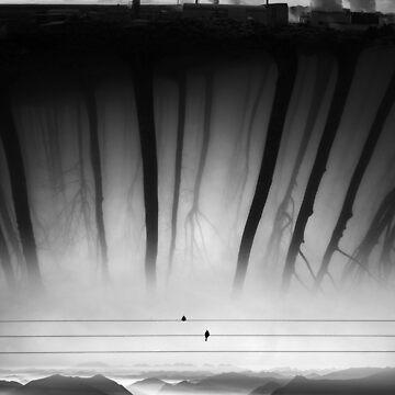 Bad Kingdom Black And White Art by stohitro