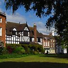 The Guildhall & Houses, Much Wenlock by wiggyofipswich