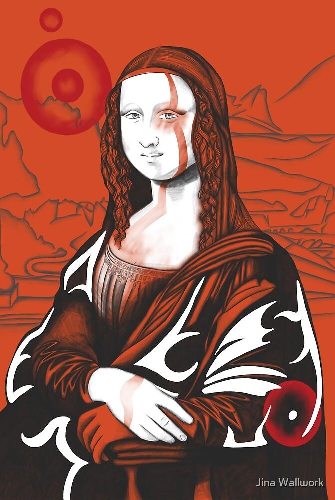 Mona Lisa 10 by Jina Wallwork