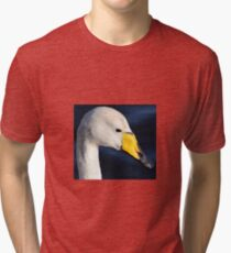 Whooper Swan Tri-blend T-Shirt