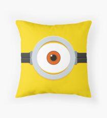 1-Eye Minion Throw Pillow