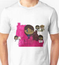 Frisky Frisk Stuff inspiriert von Undertale Slim Fit T-Shirt