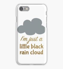 A Little Black Rain Cloud iPhone Case/Skin