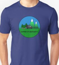 Sprintherapy in the Woods Slim Fit T-Shirt