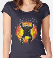 Lost in the space Women's Fitted Scoop T-Shirt