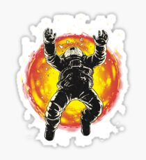 Lost in the space Sticker