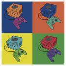Vid game Pop Art by Loewin