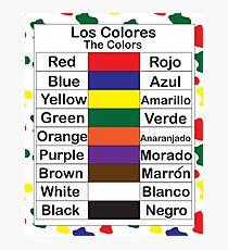 Los Colores Photographic Print