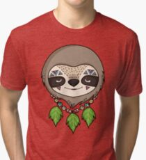 Sloth Head Tri-blend T-Shirt