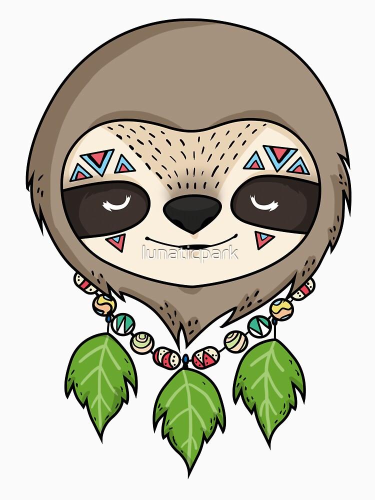 Sloth Head by lunaticpark