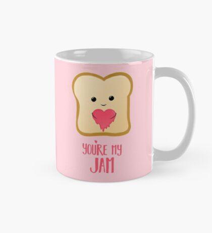 You're my Jam - Valentines Day - Valentines Pun - Anniversary - Anniversary Pun - Jam Pun - Cute Jam - Bread Pun - Adorable Mug