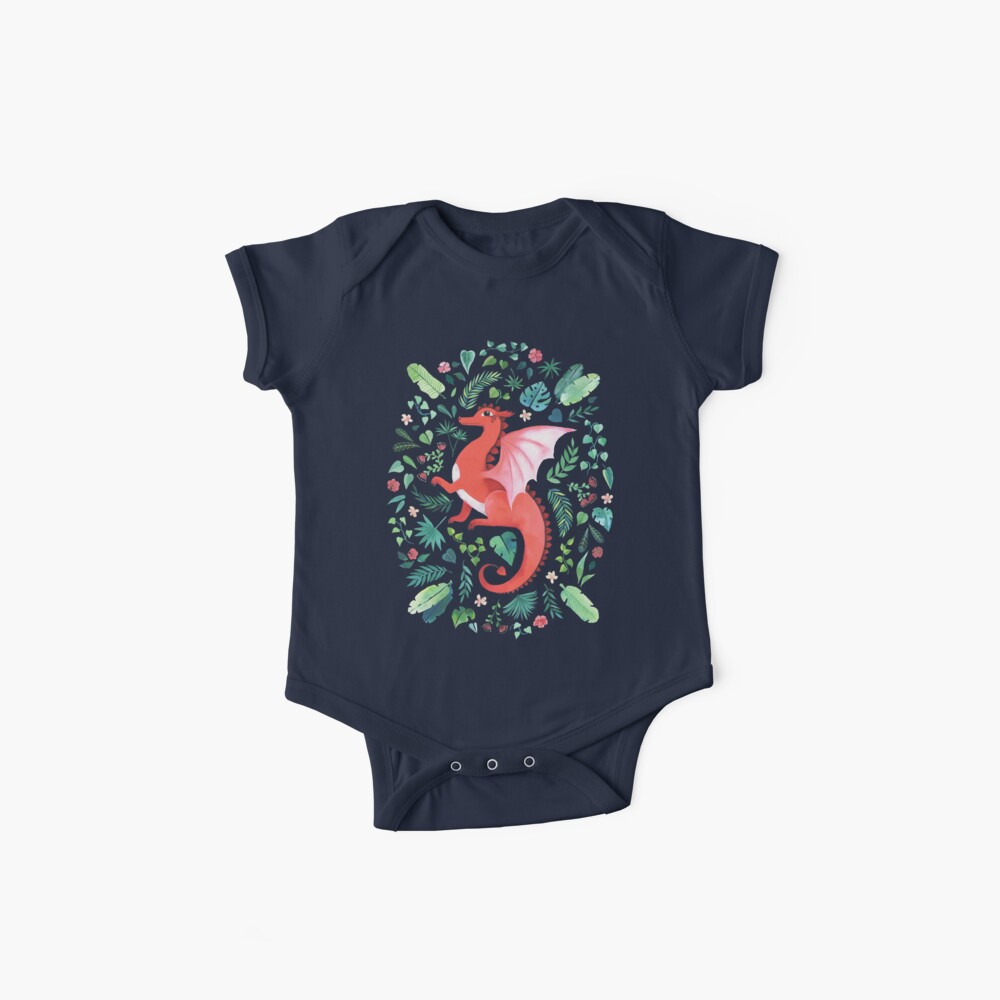 Tropical Dragon Baby One-Pieces