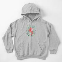Tropical Dragon Kids Pullover Hoodie