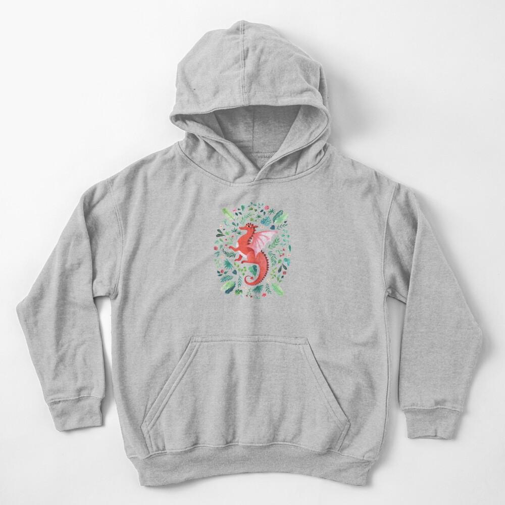 Tropical Dragon Kids Pullover Hoodie