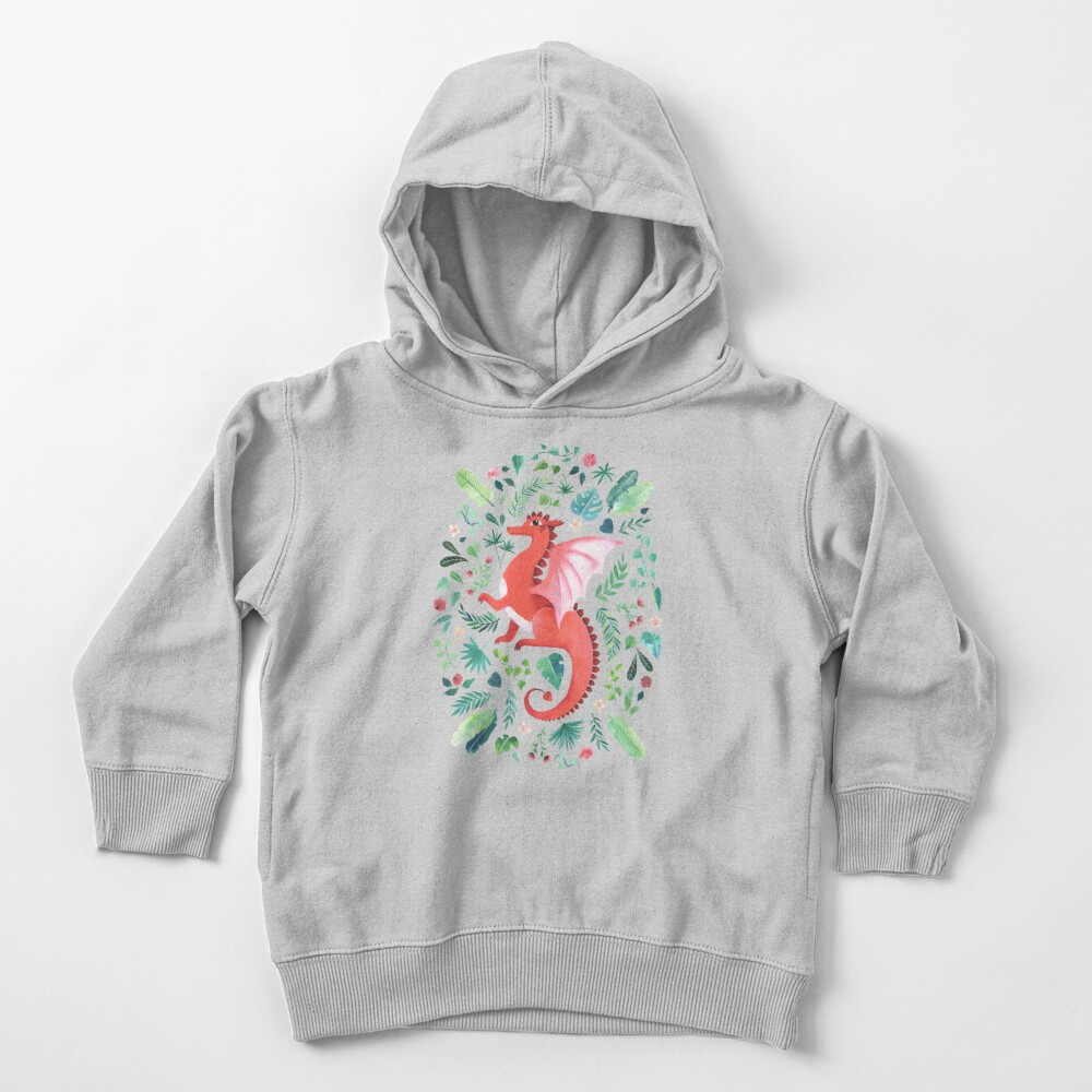 Tropical Dragon Toddler Pullover Hoodie