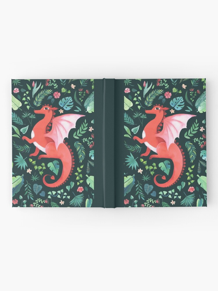 Alternate view of Tropical Dragon Hardcover Journal