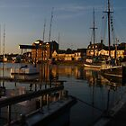 The Quay, Wells Next To Sea at Dawn by wiggyofipswich